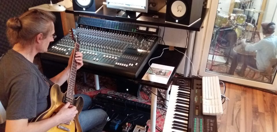 Marcel Hutter @ Sigall Studio – some snippets from the recordings