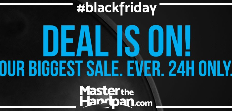 HANDPAN LESSONS? Big discount today on masterthehandpan!